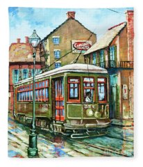 A Streetcar Named Desire Fleece Blanket