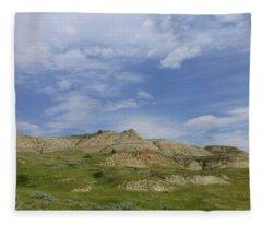 A Summer Day In Dakota Fleece Blanket