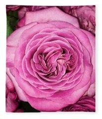 A Thousand Petals Fleece Blanket