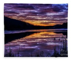 A Time Of Reflection Fleece Blanket