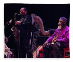 A Tribute To Alice Coltrane 5 Fleece Blanket
