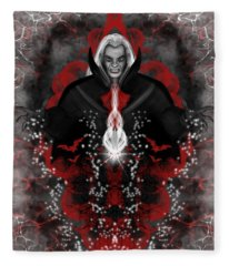 A Vampire Quest Fantasy Art Fleece Blanket