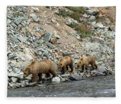 A Walk On The Wild Side Fleece Blanket