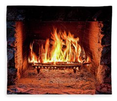 A Warm Hearth Fleece Blanket