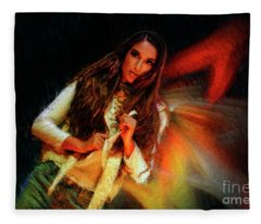A Warm Look Fleece Blanket