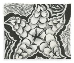 A Woman's Heart Fleece Blanket