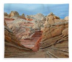 A World In Turmoil Fleece Blanket