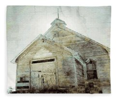 Abandoned Church 1 Fleece Blanket