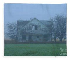 Abandoned In Oklahoma Fleece Blanket