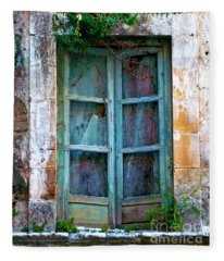 Abandoned Sicilian Sound Of Noto Fleece Blanket