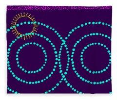 Aboriginal Art No 1 Fleece Blanket