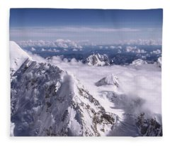 Above Denali Fleece Blanket