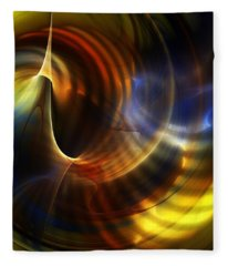 Abstract 040511 Fleece Blanket