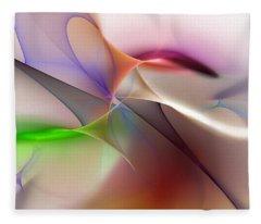 Abstract 082710 Fleece Blanket
