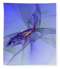 Abstract 110210 Fleece Blanket