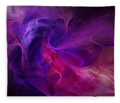 Abstract 111310b Fleece Blanket