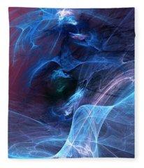 Abstract 111610 Fleece Blanket