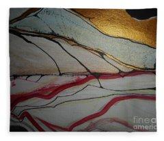 Abstract-12 Fleece Blanket