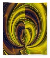 Abstract 121510 Fleece Blanket