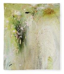 Abstract 14 Fleece Blanket