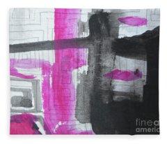 Abstract-15 Fleece Blanket