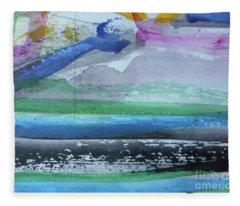 Abstract-18 Fleece Blanket