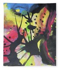 Abstract-2 Fleece Blanket