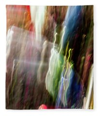 Abstract-4 Fleece Blanket