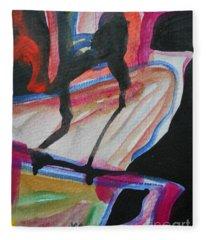 Abstract-5 Fleece Blanket