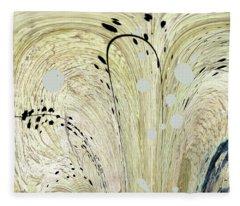 Abstract 51 Fleece Blanket