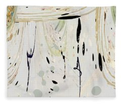 Abstract 52 Fleece Blanket