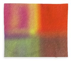 Abstract 5791 Fleece Blanket