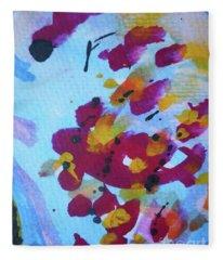 Abstract-6 Fleece Blanket