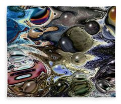 Abstract 623164 Fleece Blanket