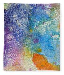 Abstract 7 Fleece Blanket