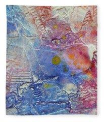 Abstract 8 Fleece Blanket