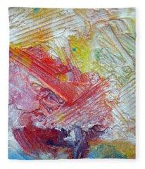 Abstract 9 Fleece Blanket