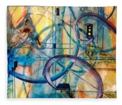 Abstract Appeal Fleece Blanket