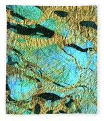 Abstract Art - Deeper Visions 3 - Sharon Cummings Fleece Blanket