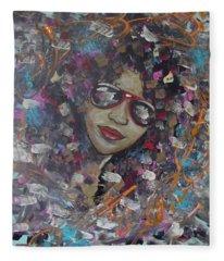 Abstract Beauty Fleece Blanket