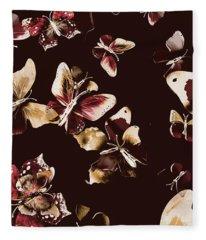 Abstract Butterfly Fine Art Fleece Blanket