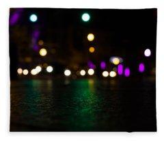 Abstract Color Fleece Blanket