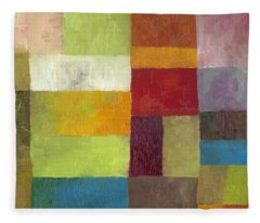 Abstract Color Study Lv Fleece Blanket