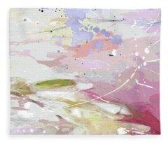 Abstract Fantasy 2 Fleece Blanket