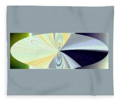 Abstract Fusion 281 Fleece Blanket