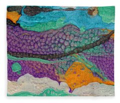 Abstract Garden Of Thoughts Fleece Blanket
