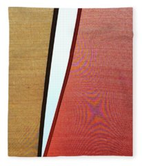 Abstract Geometrics #geometry #abstract Fleece Blanket