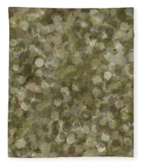 Fleece Blanket featuring the photograph Abstract Gold And Cream 2 by Clare Bambers