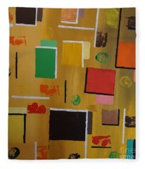 Abstract I Fleece Blanket