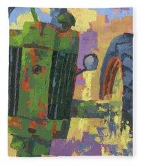 Abstract Johnny Fleece Blanket